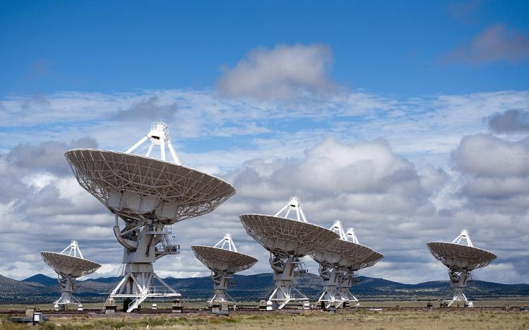 Very Large Array Telescope (image CGP Grey)