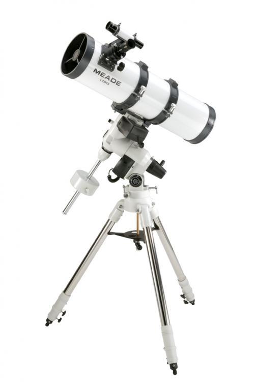 Télescope de type Newton sur une monture équatoriale (image Meade)