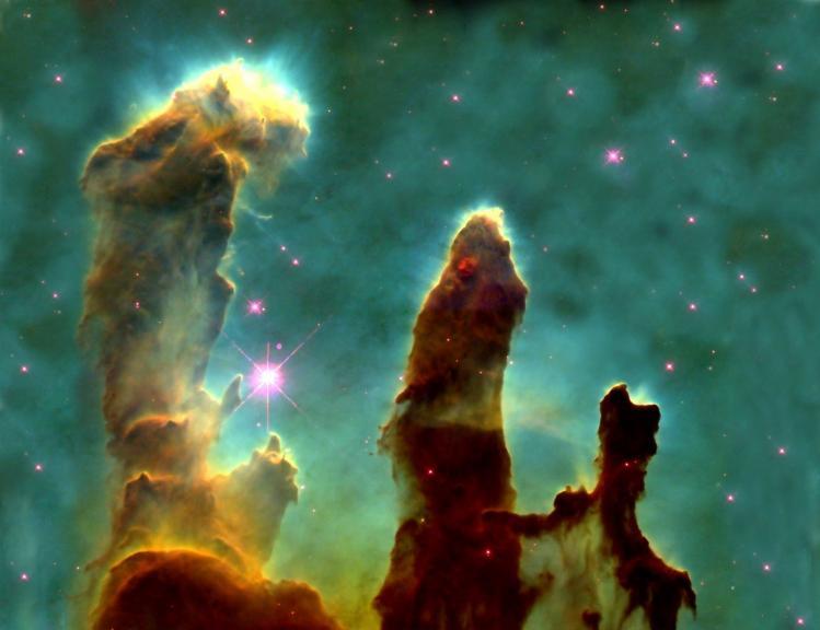 Piliers de la Création (image NASA)