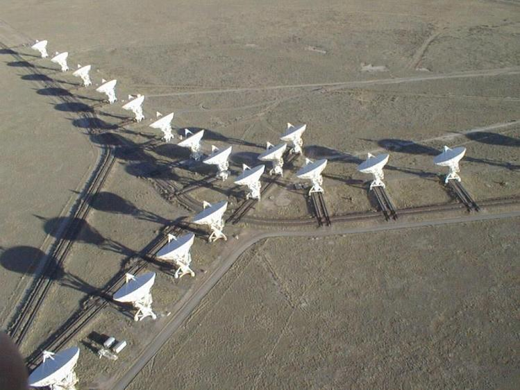 Le Very Large Array telescope (image Google)